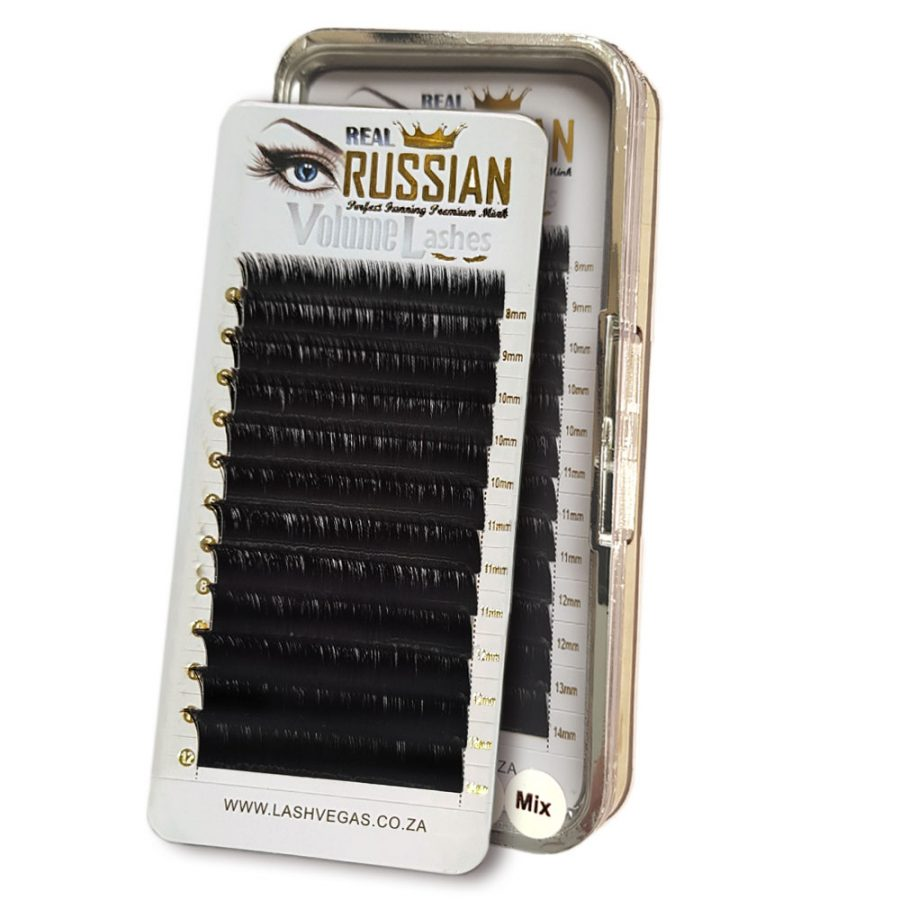 1a3f3bdc76f Real RUSSIAN Volume Premium Mink Eyelash Extensions - Easy Fanning Lashes